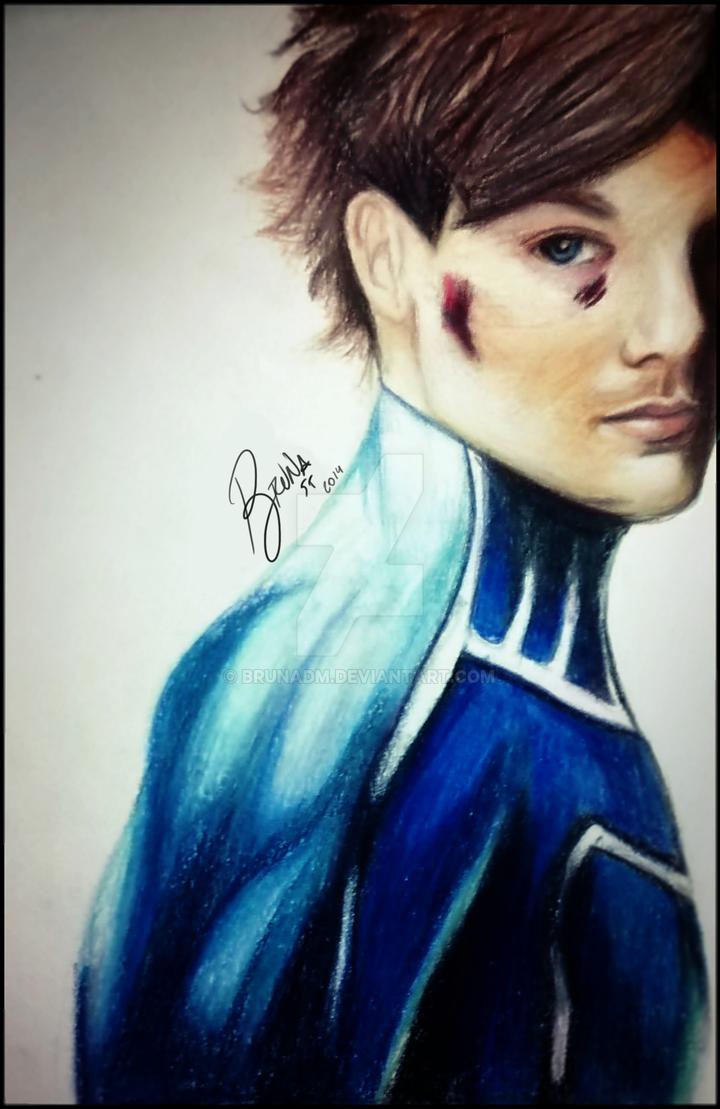 Louis tomlinson superhero