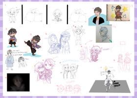 TG - Sketchdump by cyube