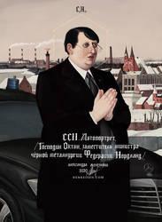 CCII. Selfportrait (Herr Oktan).