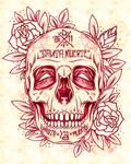 Santa Muerte Skull