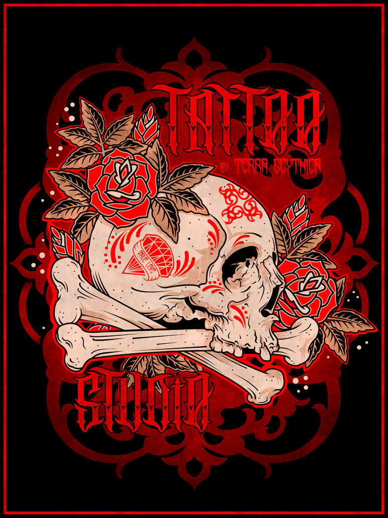 Terra Scythica Skull by DZNFlavour