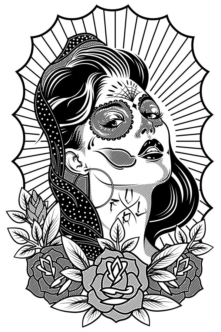 Muerto Girl by DZNFlavour