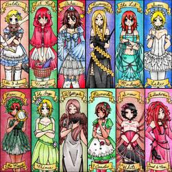 12 Dancing Princesses by theShinsengumiLolita