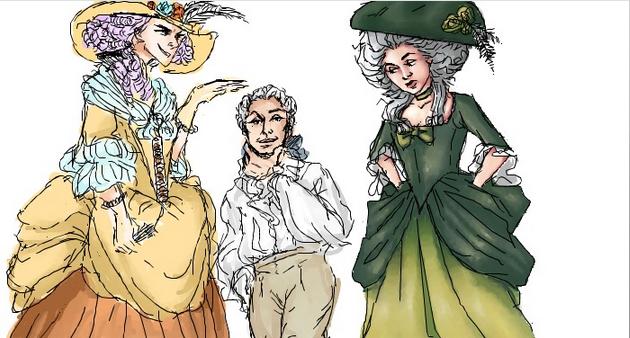Emily, De Sade, and I by cluin