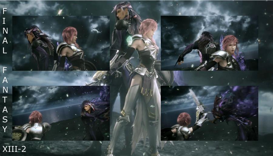 Final Fantasy 13 2 Wallpaper: Final Fantasy XIII-2 Wallpaper By Journei On DeviantArt