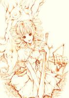 Sleepless Maiden by Naisu-no-kibou