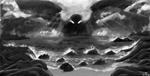 Inktober2020 - Storm + Sleep by V-vrus