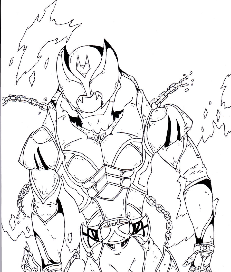 kamen rider coloring pages - photo#25