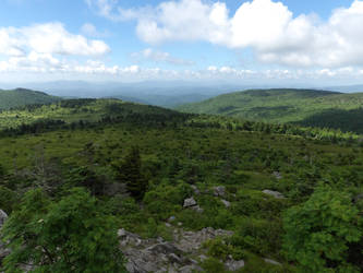 Mount Rogers - View from Appalachian Trail 7 by Sneas