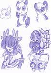 Ailurmon Sketches