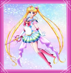 Super Sailor Moon by Setsuna-Yena