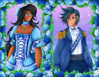Prince and Princess - B-Day Gift by Setsuna-Yena