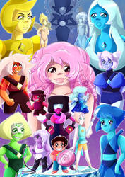 We Are The Crystal Gems by Setsuna-Yena
