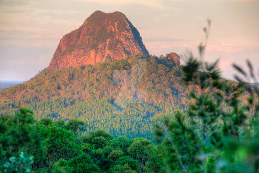Glasshouse Mountains Vista#3
