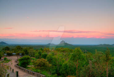Glasshouse Mountains Vista#4