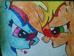 First Kiss by Piratecat102