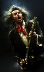 my friend rocker Marijonas by zalas