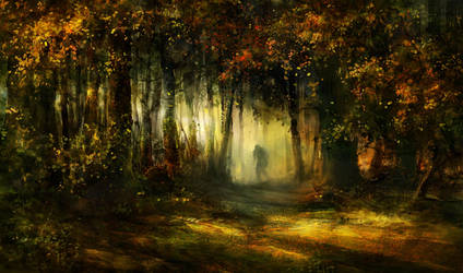 forest never sleeps