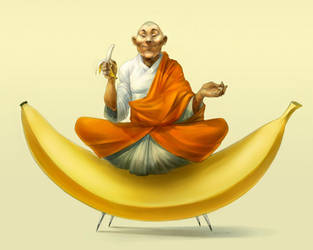 Budha Banana by zalas