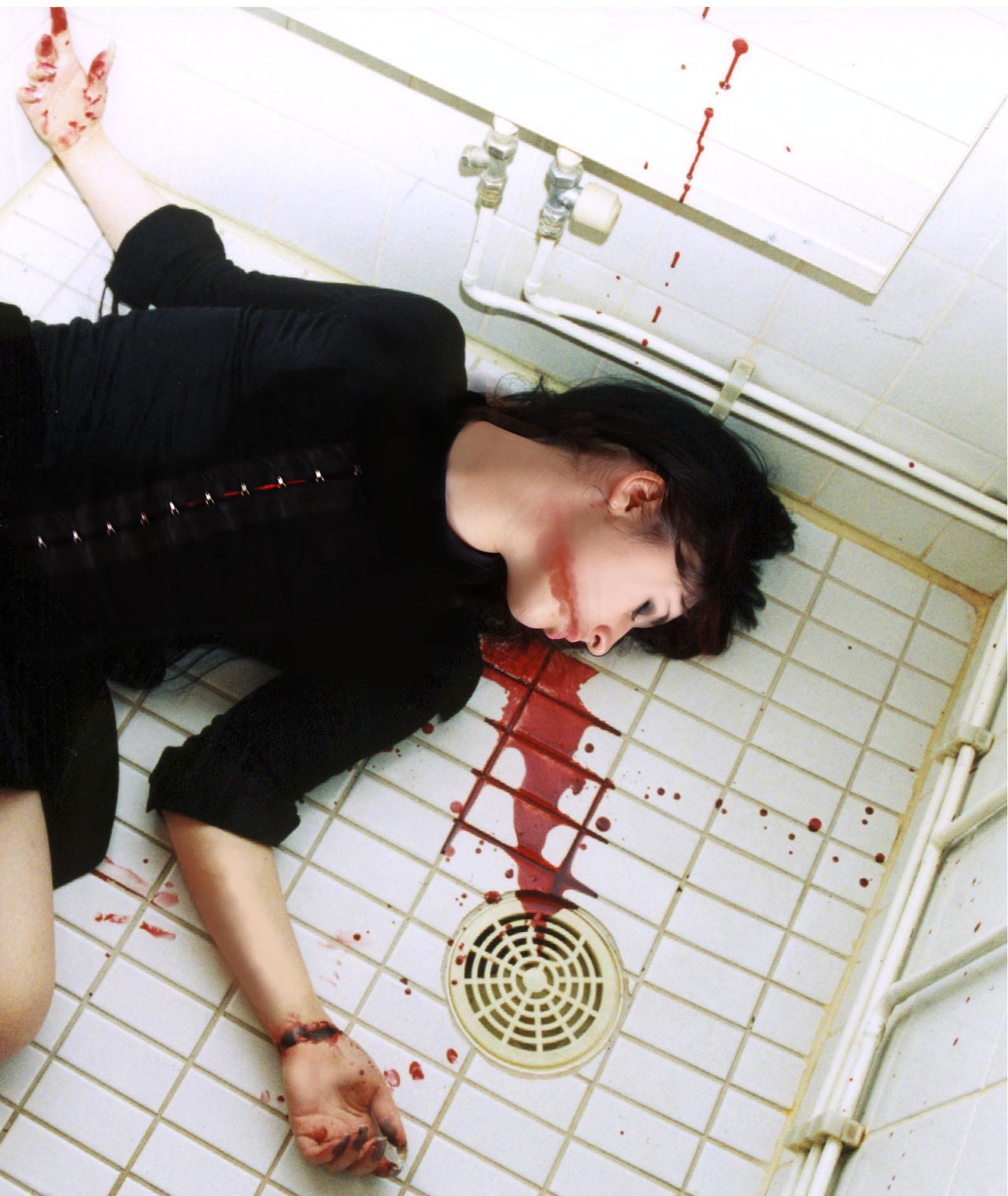 blood runs by InHerHollowHeart