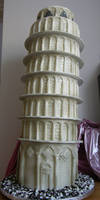 Leaning Tower of Cake
