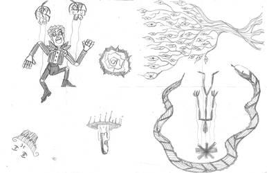 Random October Doodles