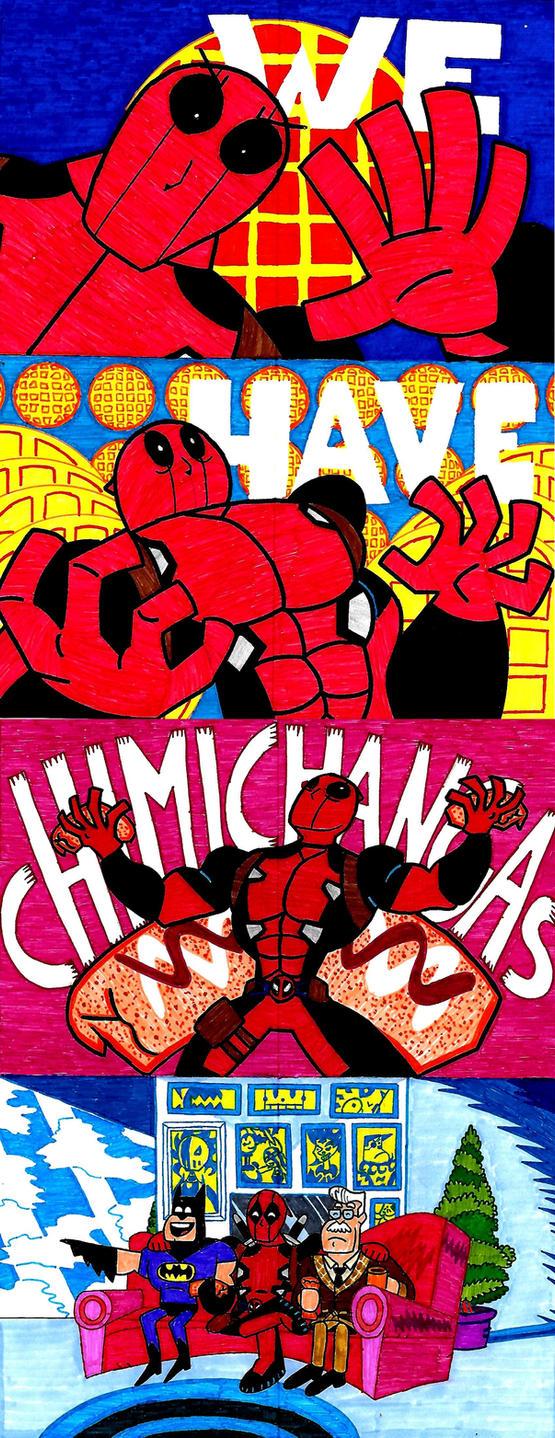 Evil Beware...(Deadpool 2 Fan Art) by ENIMINEMOE
