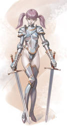 Knight girl (commission)