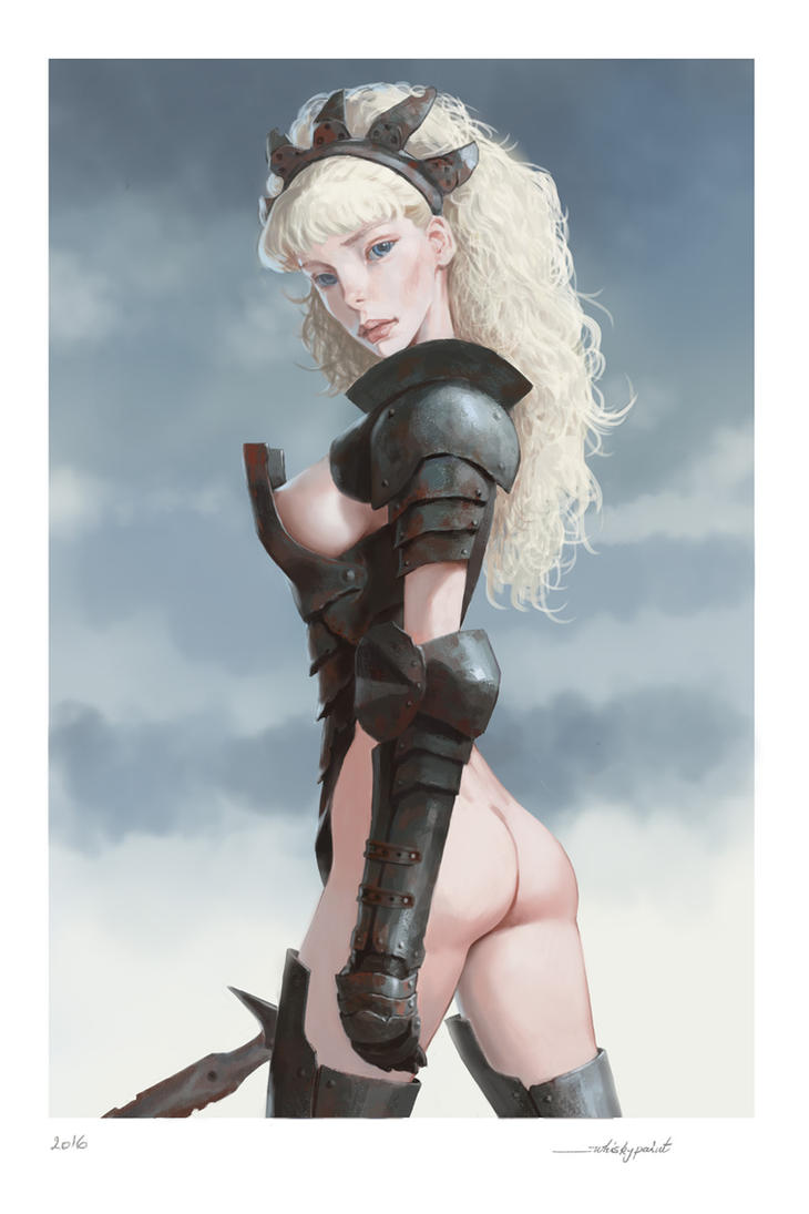 Old armor by whiskypaint