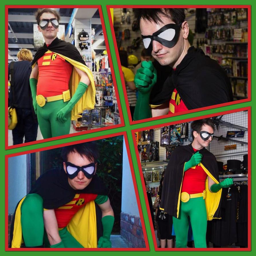 Robin at Geek a boo Glasgow! by wolvhert