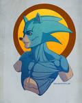 Sonic the Hedgehog Fan Art / Concept Bust
