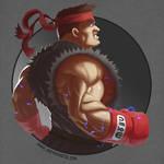 Street Fighter Ryu Fan Art