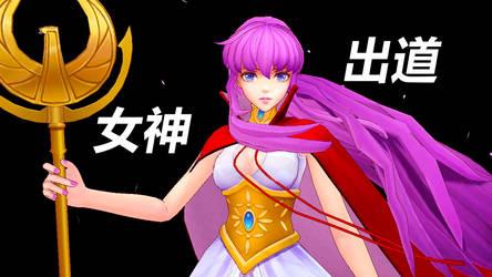 DL Saint Seiya MMD - Athena dance!