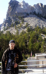Me at Rushmore by Dragon2007