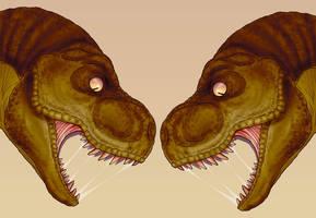 T-Rex Head by hjordang