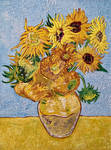 Replication of Van Gogh's Sunflowers
