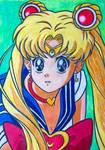 Sailor Moon ~ Redraw Challenge by RachaelGarcia