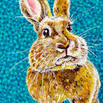 Time-Lapse: Easter Bunny #1 (Blue)