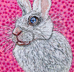 Time-Lapse: Easter Bunny #2 (Pink)