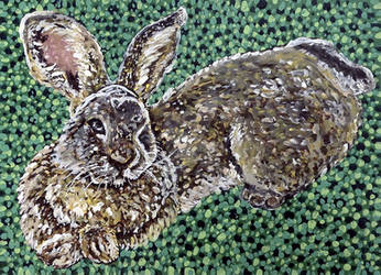 Time-Lapse: Easter Bunny #3 (Green) by RachaelGarcia