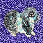 Time-Lapse: Easter Bunny #4 (Purple) by RachaelGarcia