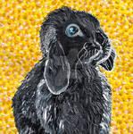 Time-Lapse: Easter Bunny #5 (Yellow) by RachaelGarcia