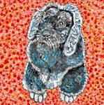 Time-Lapse: Easter Bunny #6 (Orange) by RachaelGarcia