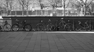 London 13 - Line of Bikes
