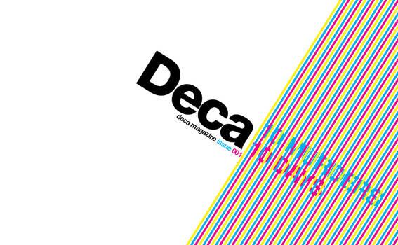 Deca Magazine Front Cover I