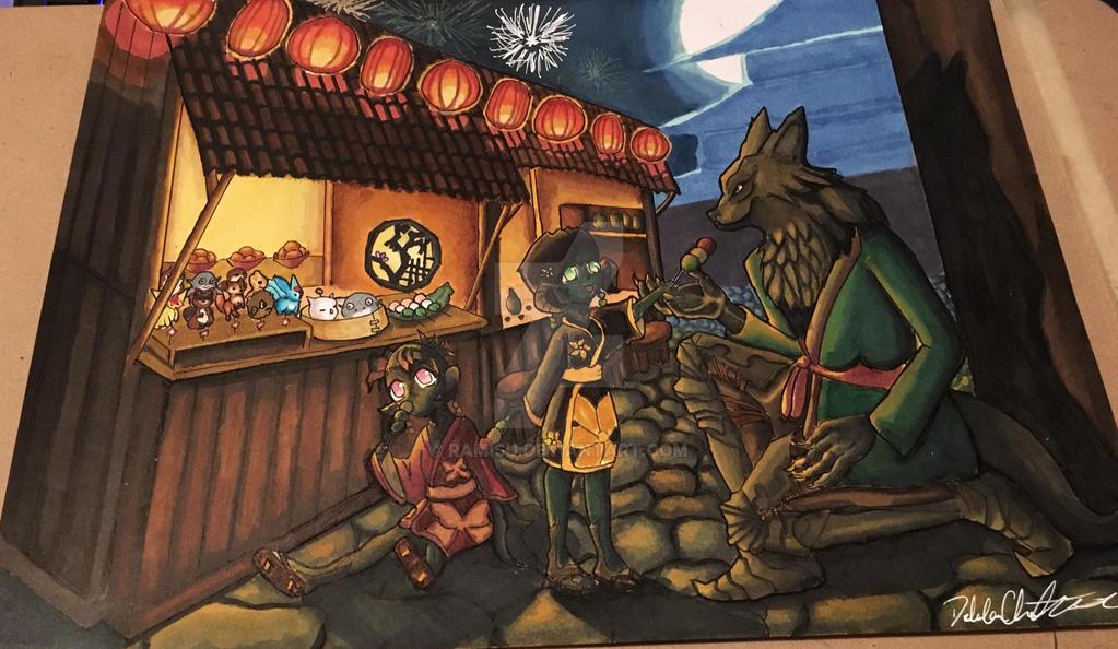 Firework Festival  by Ramisu