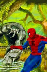 Spider-Man vs Man-thing