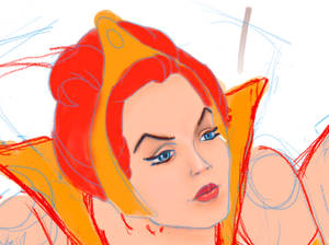 Teela from Masters of the Universe