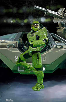 Master Chief Arrives