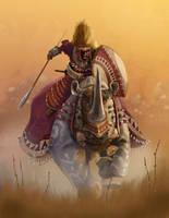 Maasai knight by toddmcarthur